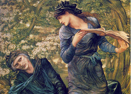 MERLIN burne-jones_